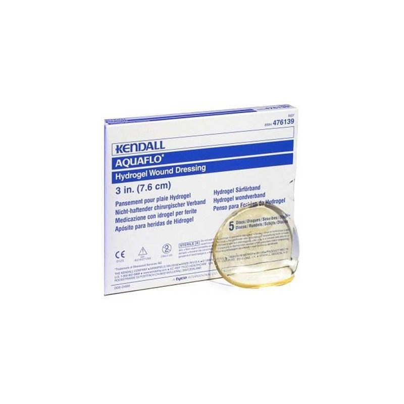 "Aquaflo Hydrogel Wound Dressing 3"" Disc"