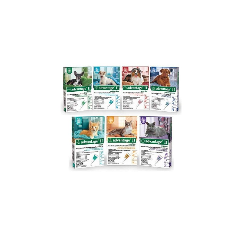 Advantage II Dog Teal 11-20Lb 6Pk <B>$328.38<B/>