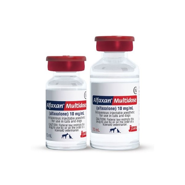 Alfaxan 10mg/ml Injection 20ml C4  28 Day (Dog And Cat)