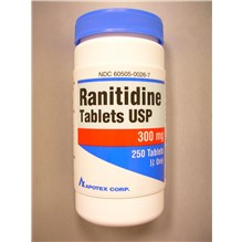 Ranitidine Tablets 300mg 250ct