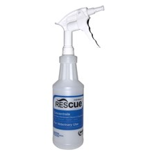 Rescue Disinfectant Concentrate Spray Bottle Only 32oz
