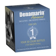 Denamarin Advanced Tabs For Cats 120ct (4 X 30)