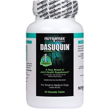 Dasuquin Small Medium Dog Chew Tab 84ct