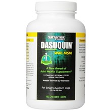 Dasuquin MSM Small Medium Dog Chew Tab 150ct
