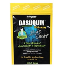 Dasuquin MSM Small Medium Dog Soft Chew 84ct
