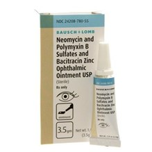 Neo Poly Bac Ophthalmic Ointment 3.5Gm