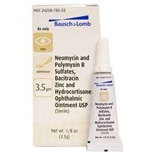 Neo Poly Bac Hc Ophthalmic Ointment 3.5Gm