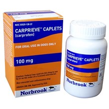 Carprieve Caplet 100mg 60ct