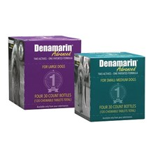 Denamarin Advanced Small Medium  7-50lbs Chew Tabs 4 bottles/bx 30ct each