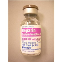 Heparin Sodium Injection 1000U 10ml