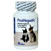Prohepatic Liver Support Tabs Cat And Small Dog 30ct