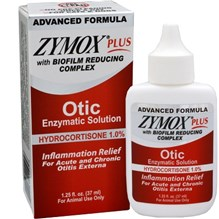 Zymox Plus Otic HC Red Label 1.25oz
