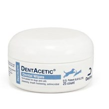 Dentacetic Dental Wipes 25ct