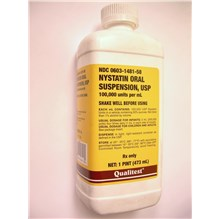 Nystatin Oral Suspension 16oz
