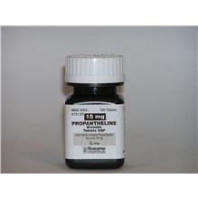 Propantheline Tab Br 15mg 100ct