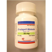 Enalapril Tabs 20mg 100ct
