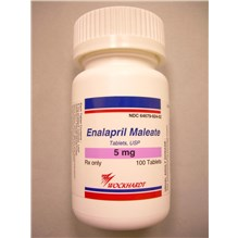 Enalapril Tabs 5mg 100ct
