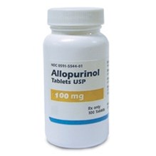 Allopurinol Tabs 100mg 100ct