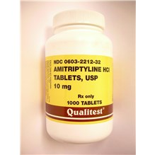 Amitriptyline Tabs 10mg 1000ct