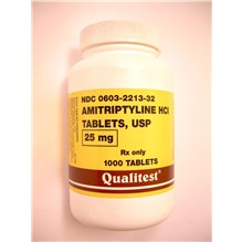 Amitriptyline Tabs 25mg 1000ct