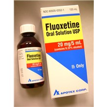 Fluoxetine 20mg/5ml 120ml Oral Solution