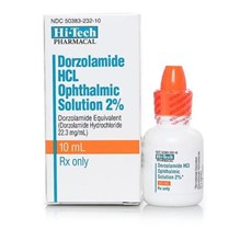 Dorzolamide 2% Ophthalmic Solution 10ml