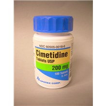 Cimetidine Tablets 200mg 100ct Compare to Tagamet