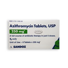 Azithromycin 250mg 6ct