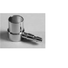 Vaporizer Outlet Adapter Chrome 23mm Inside Fit Male