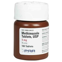 Methimazole Tabs 5mg 100ct