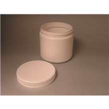 Ointment Jar With Lid 16oz White