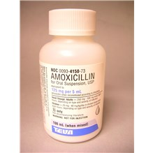 Amoxicillin Suspension 125mg/5ml 100ml