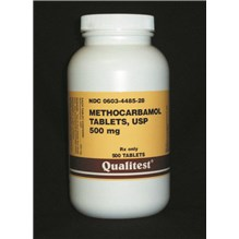 Methocarbamol Tabs 500mg 500ct