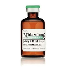 Midazolam Injection 5mg/ml 10ml  10pk C4 Pfizer Full Pack Only