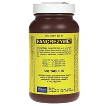 Pancrezyme Tablets 500ct