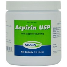 Aspirin Powder 1lb Jar Apple Flavor Neogen Label