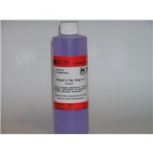 Wrights Dip Stat Stain #1 Fixative Light Purple 8oz