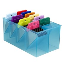 Blade Comb Set Universal 10 Color Coded With Case