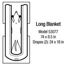 Bair Hugger Blanket Long Tube Shape 74