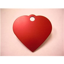 Imarc Tag Small Red Heart 25ct
