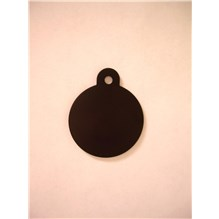 Imarc Tag Large Black Circle 25ct