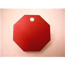 Imarc Tag Large Red Stop Sign 25ct