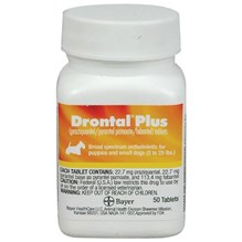 Drontal Plus Tabs Canine Small Dog 50ct