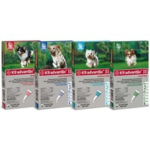 K9 Advantix II Dog Blue 55-88lb 4Pk