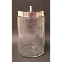 Sundry Jar With Lid Unlabeled 7