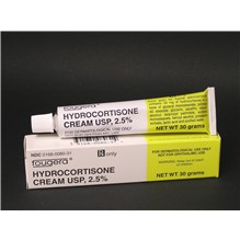 Hydrocortisone Cream 2.5%  30Gm