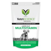 Canine Plus Mutltivitamin Bite Sized Chew 30ct