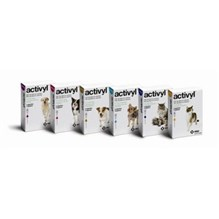 Activyl Medium Dog 22-44 Lbs Red 1.54ml  6pk