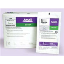 Ansell Perry Encore Surgical Gloves Size 6.5  Powder Free 50/bx