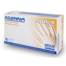 Exam Gloves Adenna Platinum Medium Textured 5.5mil 100/bx  PLT555